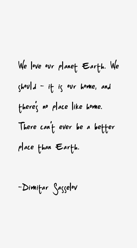Dimitar Sasselov Quotes Sayings