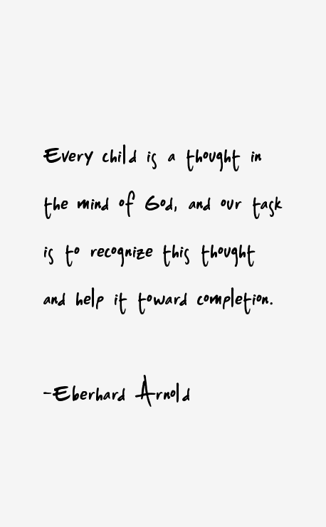 Eberhard Arnold Quotes