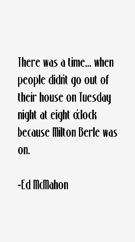 Ed McMahon Quotes