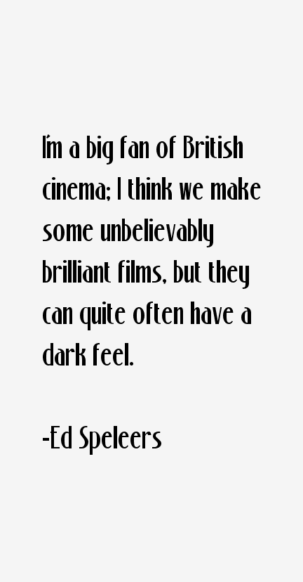 Ed Speleers Quotes
