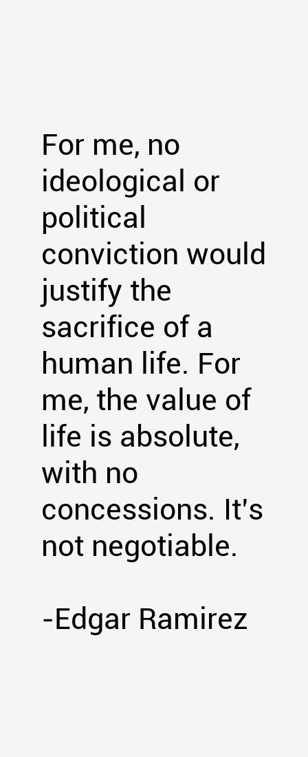 Edgar Ramirez Quotes