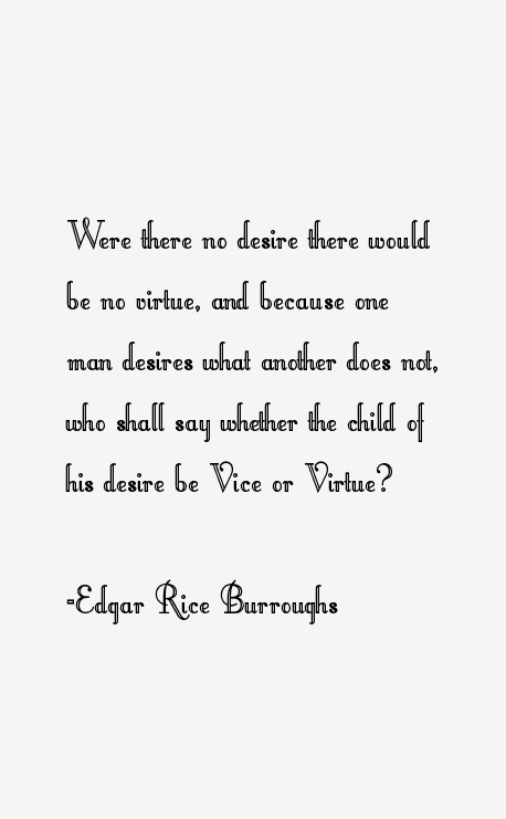 Edgar Rice Burroughs Quotes