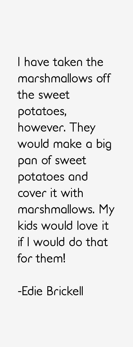 Edie Brickell Quotes