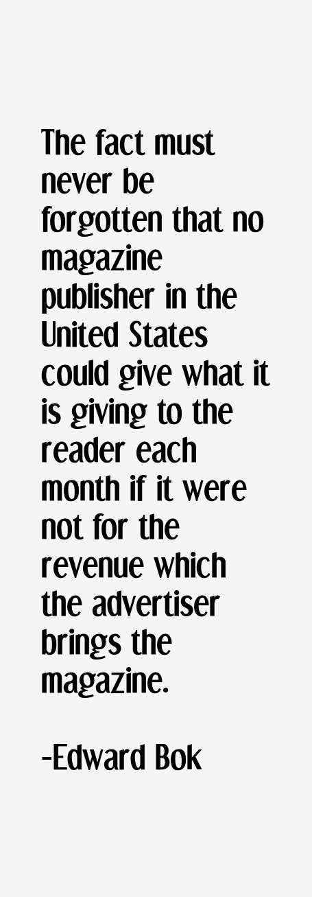 Edward Bok Quotes