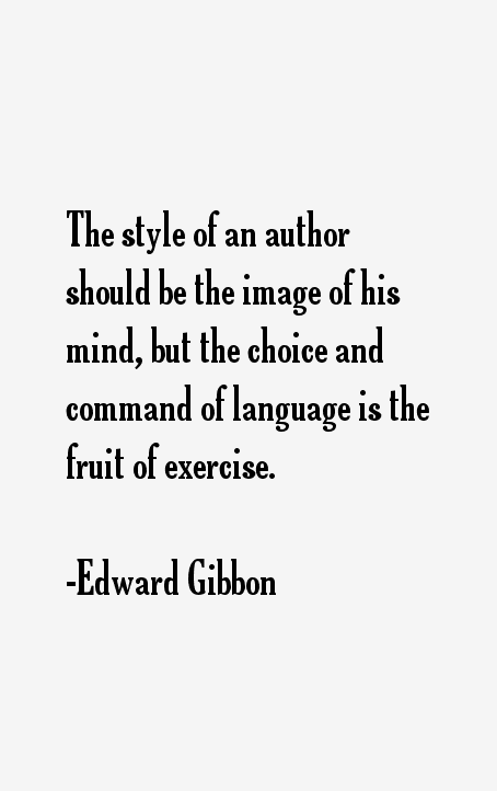 Edward Gibbon Quotes