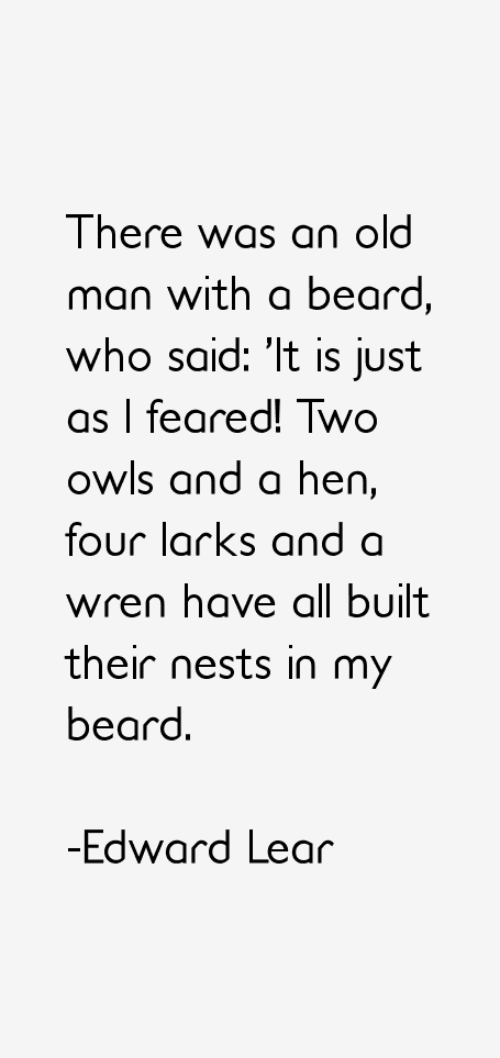Edward Lear Quotes