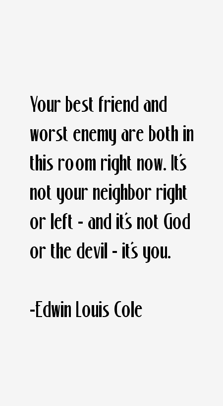 Edwin Louis Cole Quotes