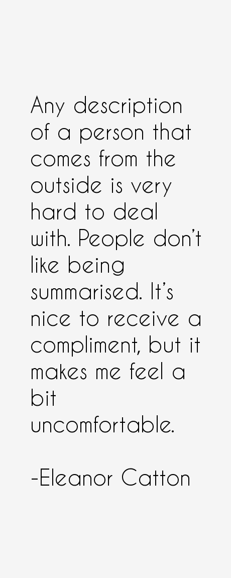 Eleanor catton quotes sayings page 6 for Hard exterior quotes