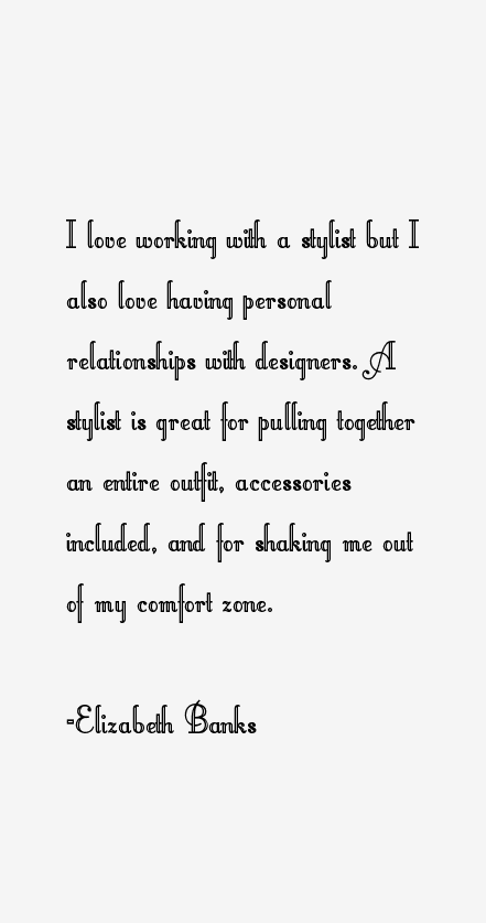 Elizabeth Banks Quotes