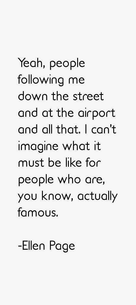 Ellen Page Quotes
