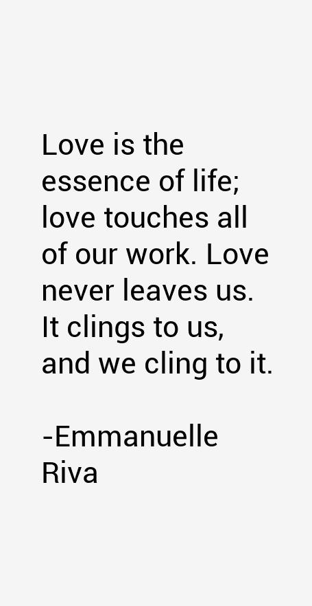 Emmanuelle Riva Quotes