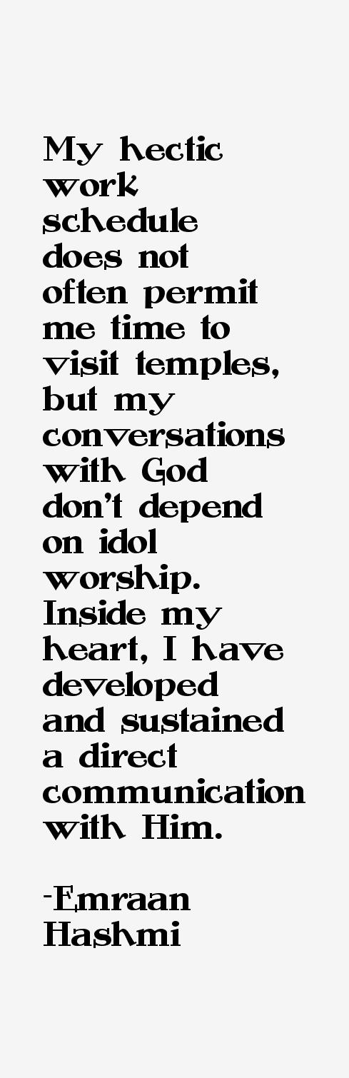Emraan Hashmi Quotes