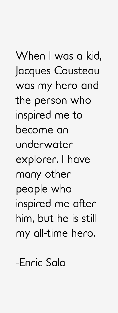 Enric Sala Quotes