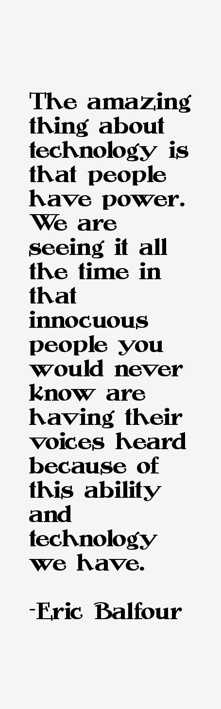 Eric Balfour Quotes