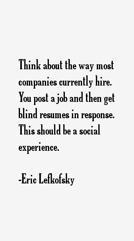 Eric Lefkofsky Quotes