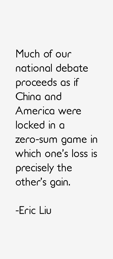 Eric Liu Quotes