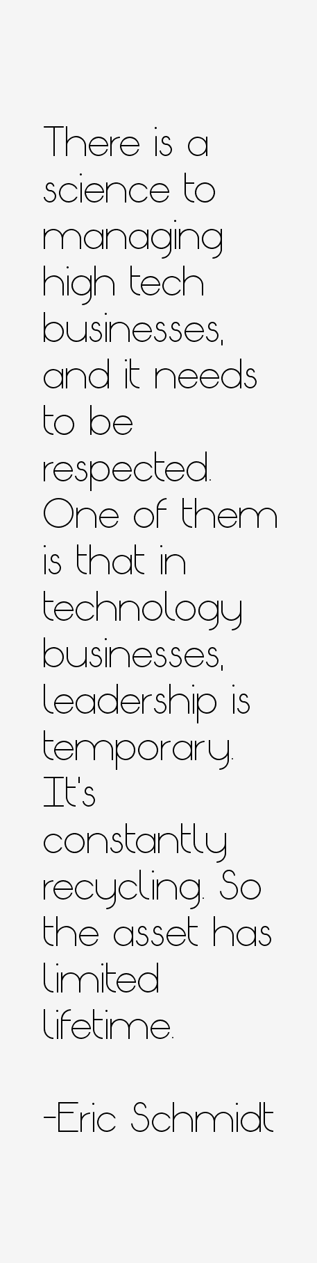Eric Schmidt Quotes