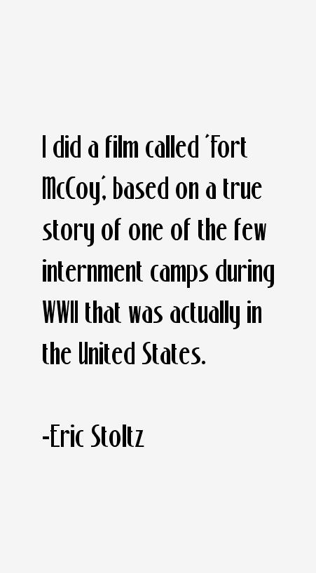 Eric Stoltz Quotes