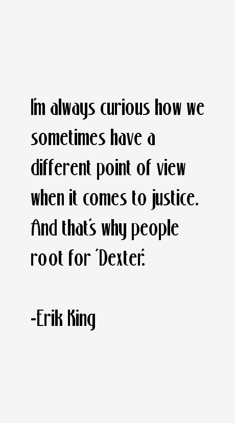 Erik King Quotes