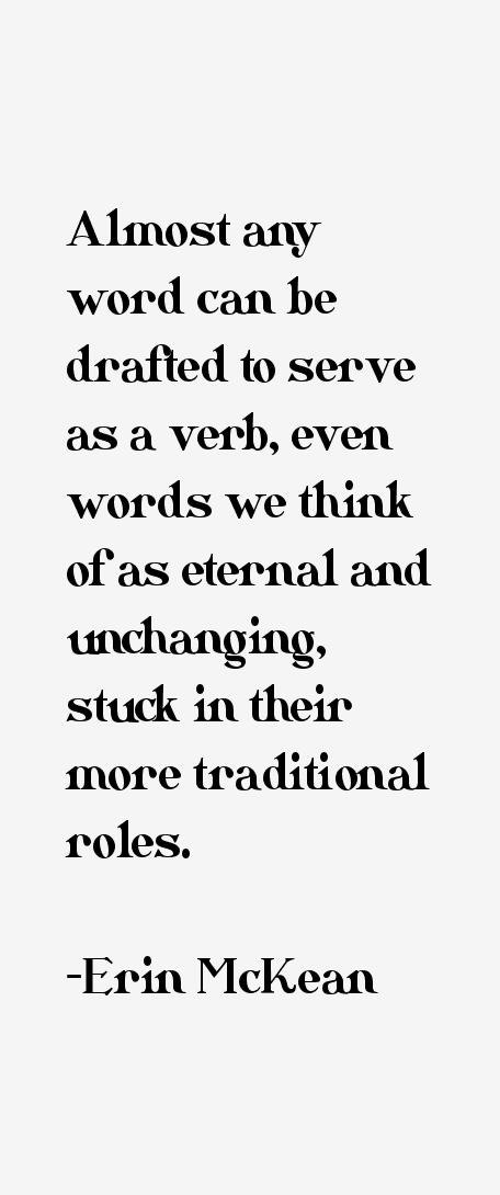 Erin McKean Quotes