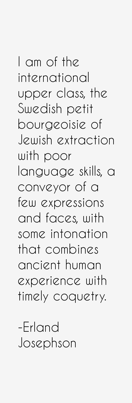 Erland Josephson Quotes