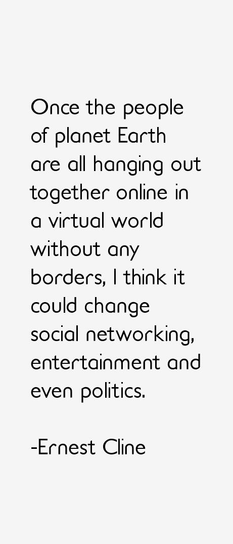 Ernest Cline Quotes