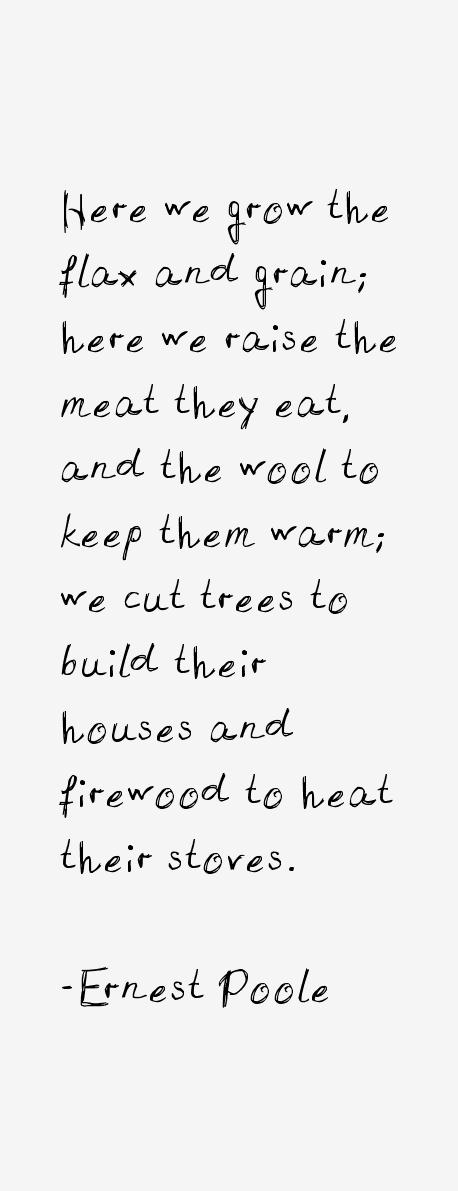 Ernest Poole Quotes