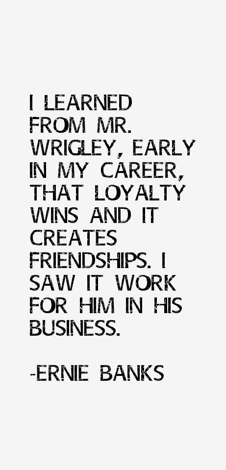 Ernie Banks Quotes