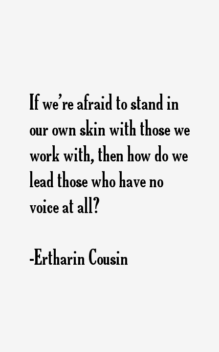 Ertharin Cousin Quotes