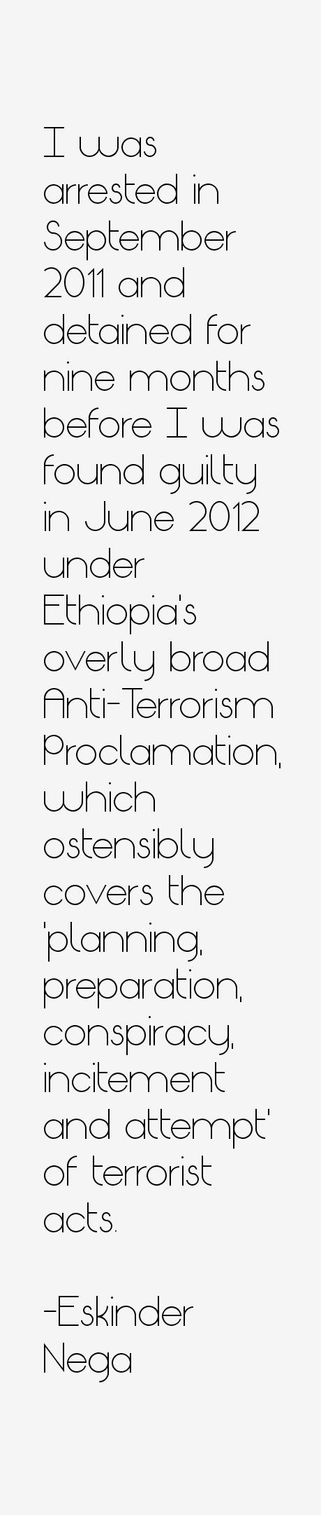 Eskinder Nega Quotes
