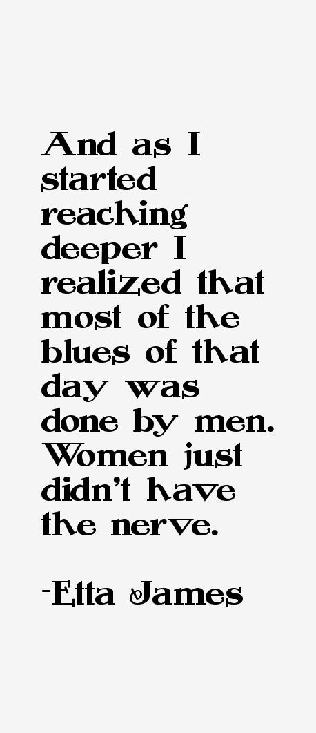 Etta James Quotes