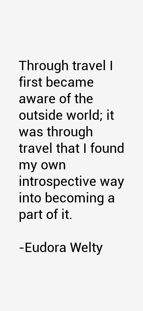 Eudora Welty Quotes