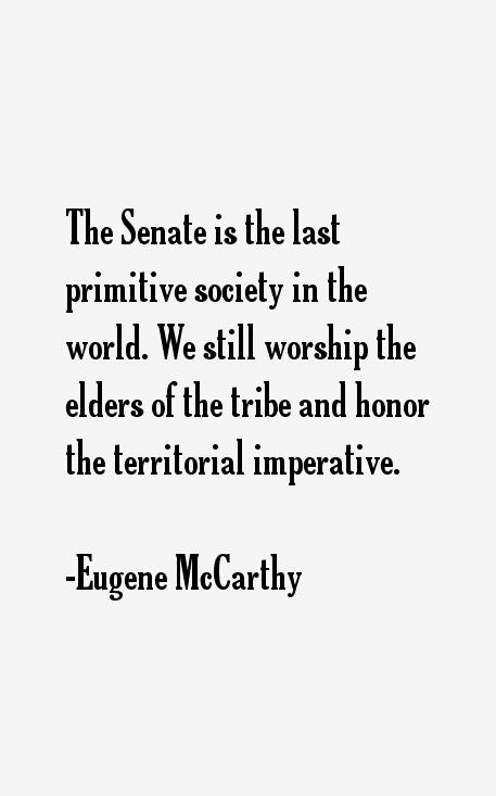 Eugene McCarthy Quotes