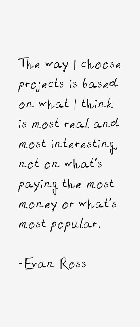 Evan Ross Quotes