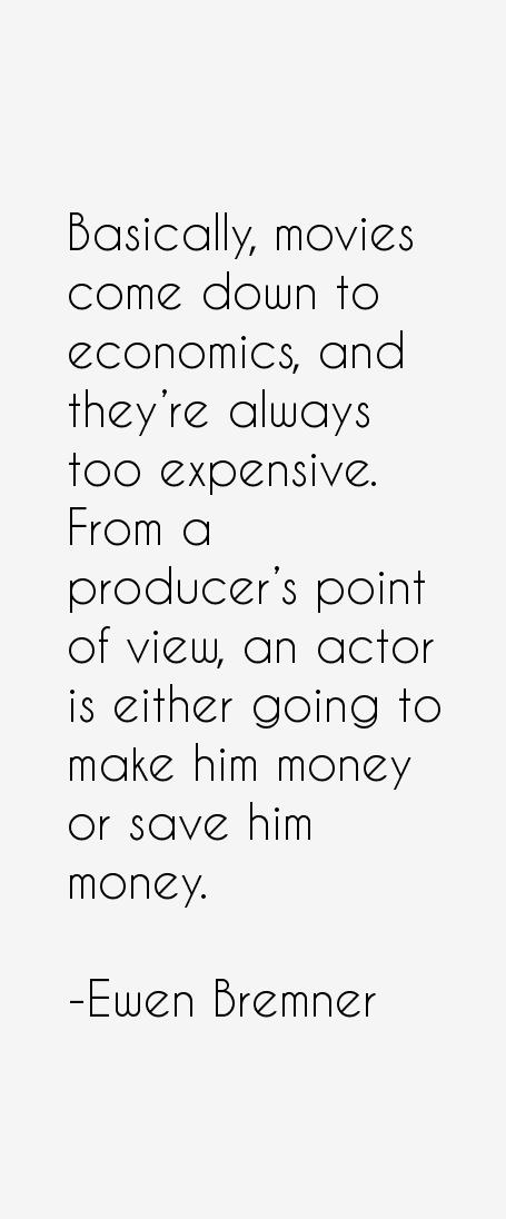 Ewen Bremner Quotes