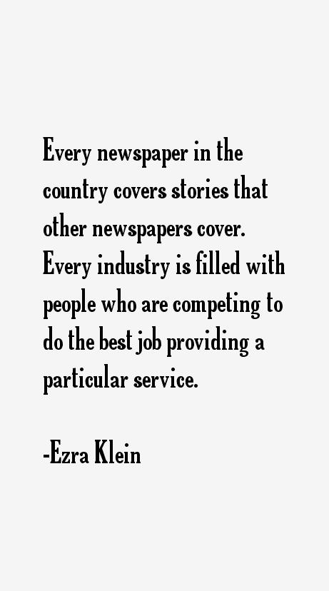 Ezra Klein Quotes