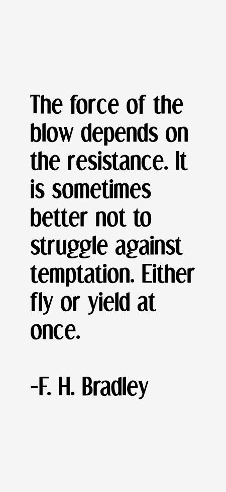 F. H. Bradley Quotes