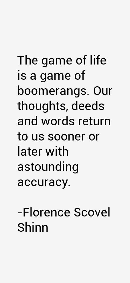 Florence Scovel Shinn Quotes