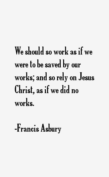 Francis Asbury Quotes