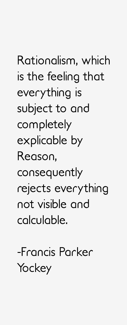 Francis Parker Yockey Quotes