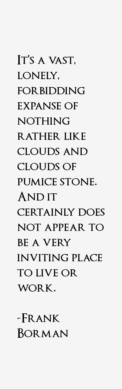 Frank Borman Quotes