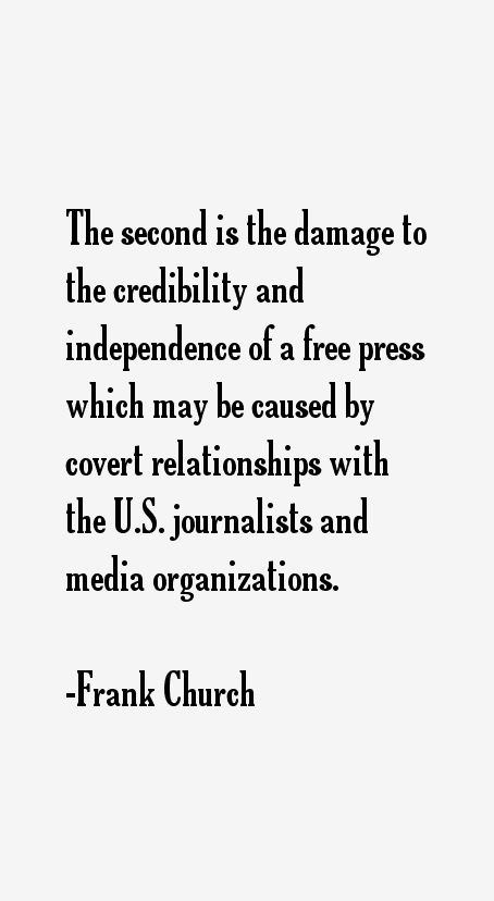 Frank Church Quotes