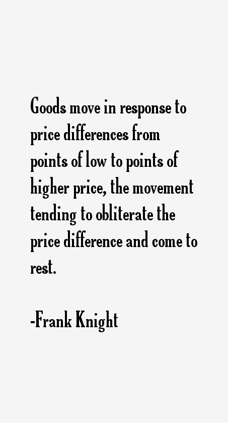 Frank Knight Quotes