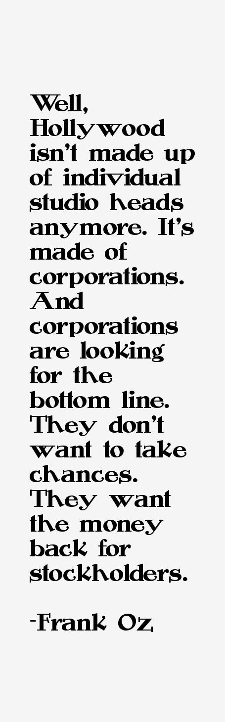 Frank Oz Quotes
