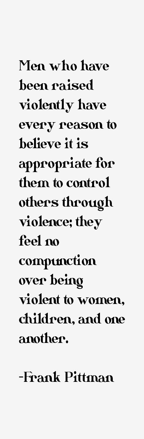 Frank Pittman Quotes