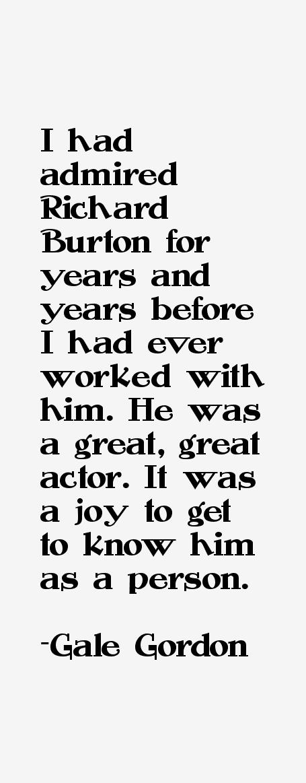 Gale Gordon Quotes