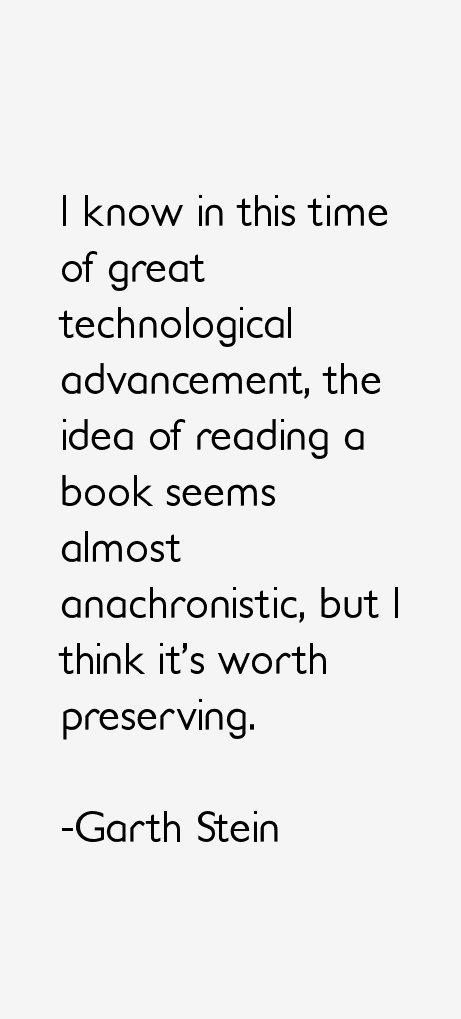 Garth Stein Quotes