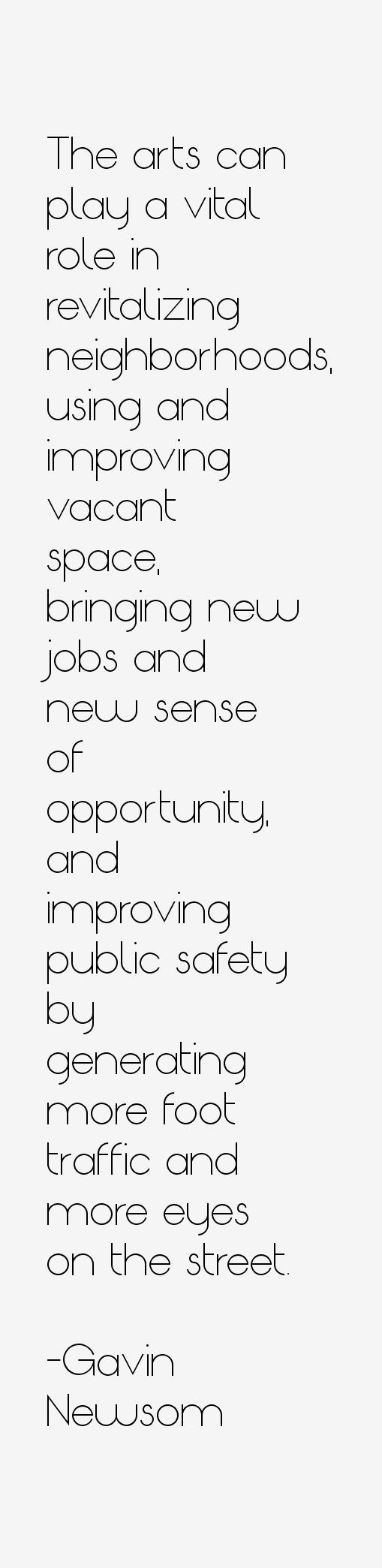 Gavin Newsom Quotes