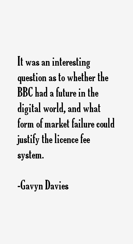 Gavyn Davies Quotes