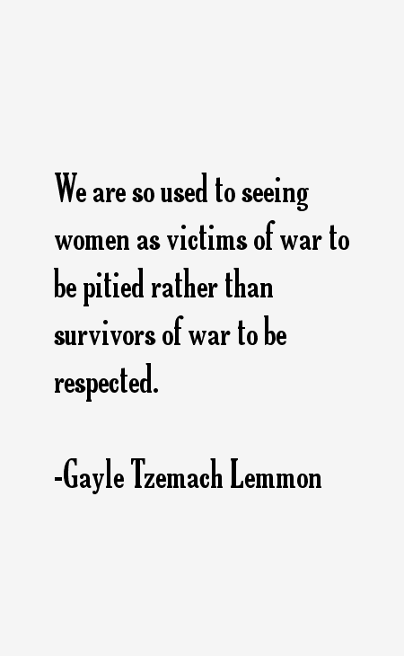Gayle Tzemach Lemmon Quotes